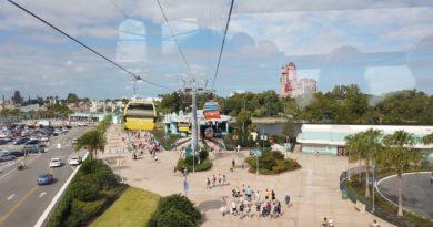 wdwmagic - Disney Skyliner POV - preview ride