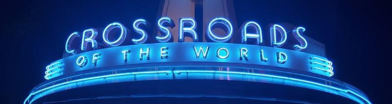 Disney World Glossary - Crossroads to the World