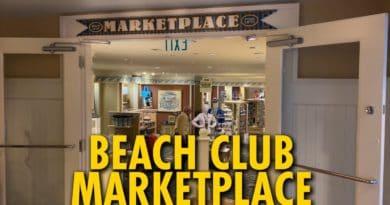 Beach Club Marketplace Gift Shop - Disney's Beach Club Resort