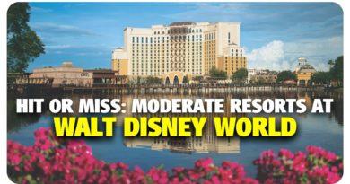 Hit or Miss: Moderate Resorts at Walt Disney World - Best & Worst