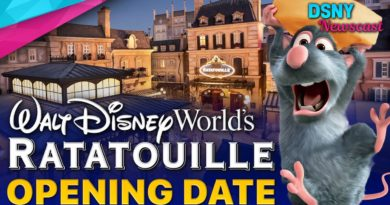 OPENING DATE for Remy's RATATOUILLE Adventure at Walt Disney World
